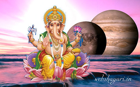 ganesh in space photo