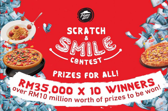 Scratch & Smile Contest 2017 Dengan Pizza Hut