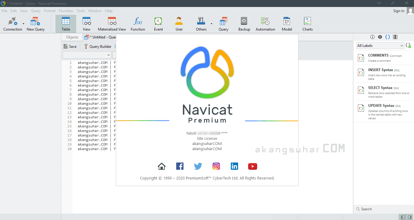 Gratis Download Navicat Premium Full Crack Terbaru