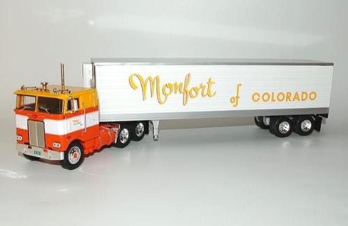 Peterbilt 352H 1:43 montfort of colorado, camiones 1/43, camiones americanos 1:43, coleccion camiones americanos 1:43, camiones americanos 1:43 altaya españa
