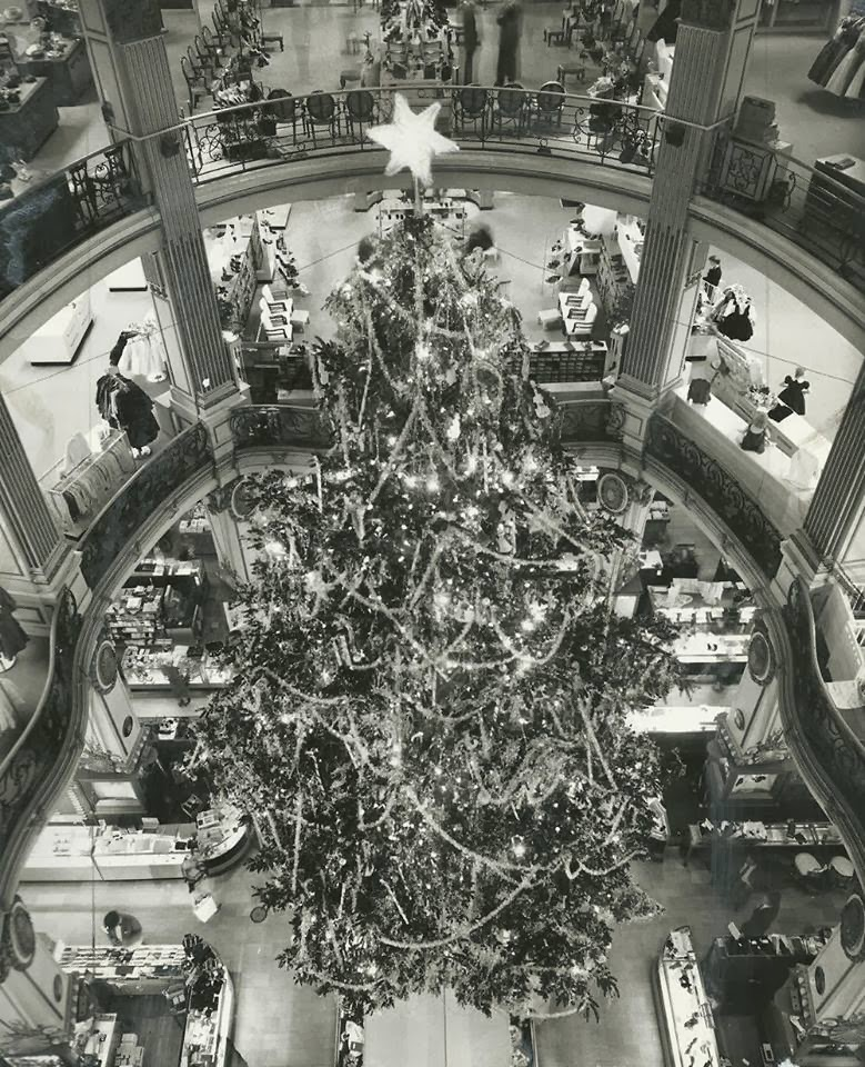 Paris Department Store Christmas Decorations: Travel Rants And Raves: A 1950's Christmas In San Francisco