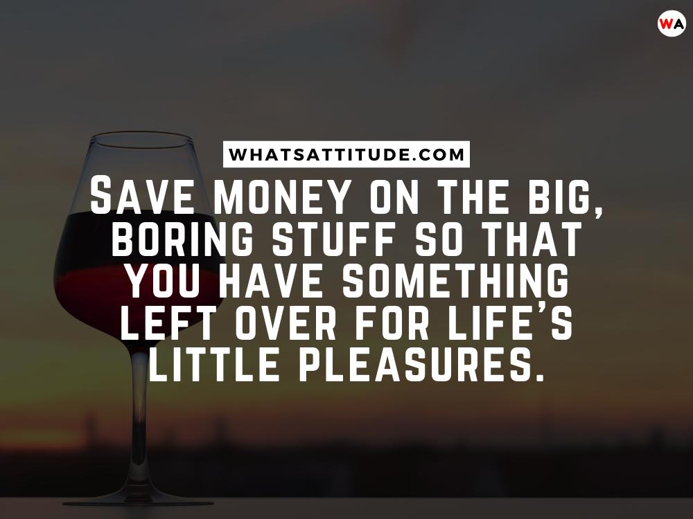 Saving Money Quotes