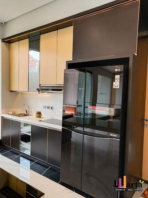 Desain Kitchen Set Pantry Villa Citra Bandar Lampung