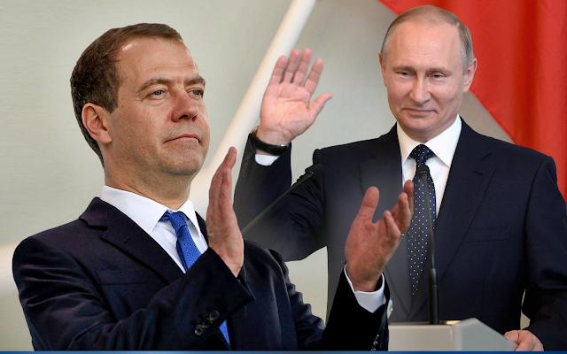 Дмитрий Медведев и Владимир Путин. Обещания, с завидным постоянством даваемые «Единой Россией», видимо, так и останутся обещаниями…