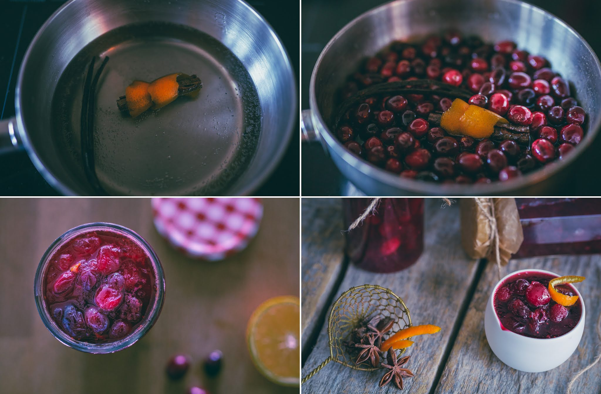 WEEKENDS IN THE KITCHEN: Cranberry Compote/ Сладко от чевени боровинки