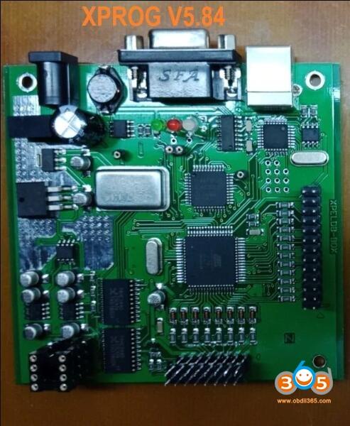 xprog-v584-pcb