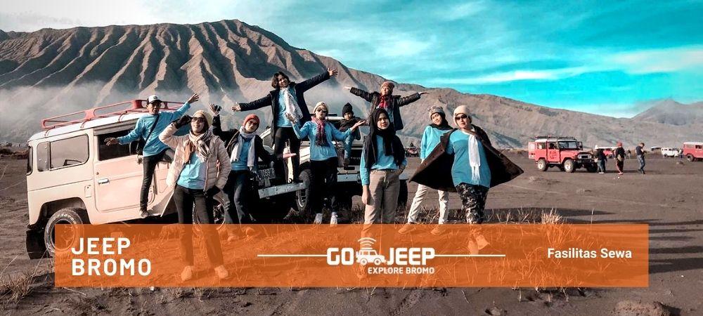 fasilitas sewa jeep wisata gunung bromo