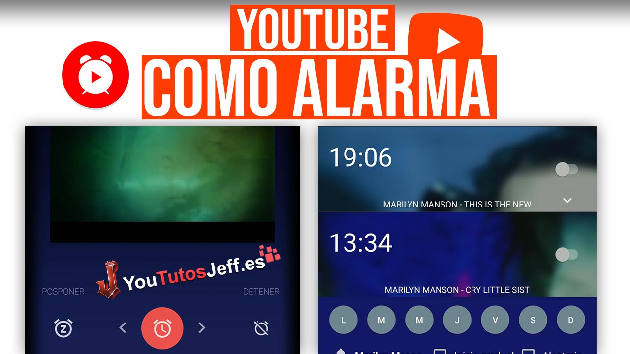 Youtube Despertador, Usa Youtube como Alarma