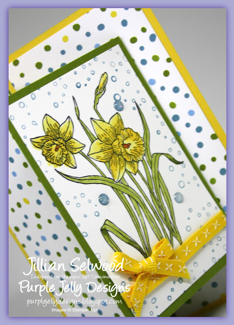 Daffodils, You're Inspiring Stamp Set, Stampin' Blends