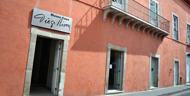 Casa de Diego Rivera, Guanajuato