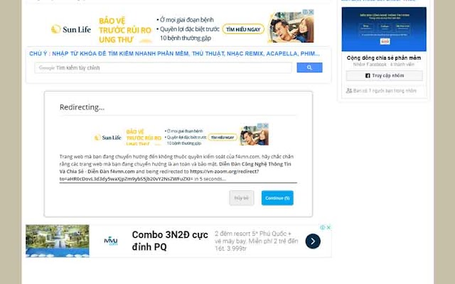 GoodForNothing Link Proxy 1.0.5 - Tạo trang chuyển hướng cho xenforo