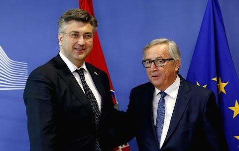 Juncker támogatja Horvátország schengeni csatlakozását