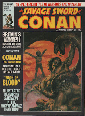 Marvel UK, Savage Sword of Conan #30