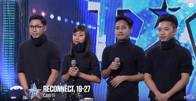 Reconnect's Finger Tutting Blew The Judges Away