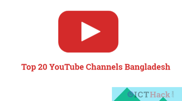 Top 20 YouTube channels in Bangladesh   Most Subscribed Youtube Channel