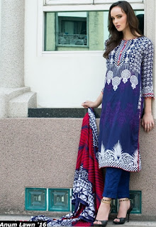 Al-Zohaib Textile Anum Printed Lawn Summer Collection