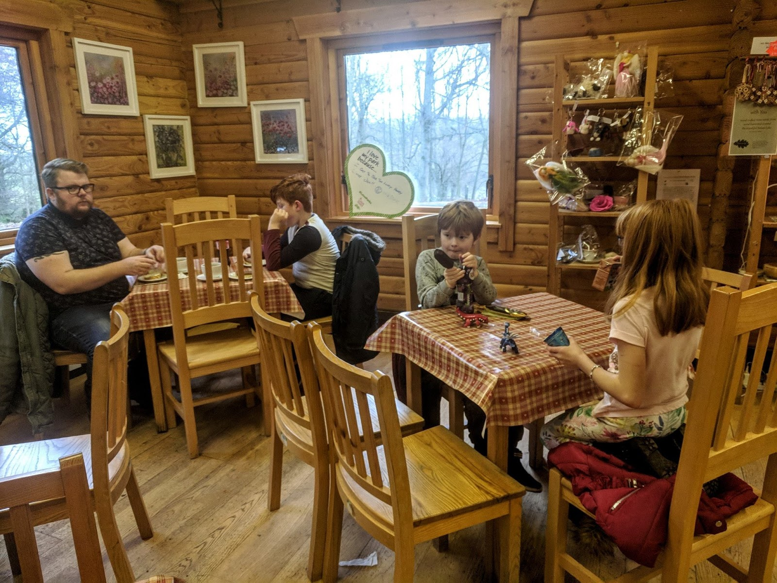 A Guide to Visiting Bolam Lake, Northumberland  - inside of cafe