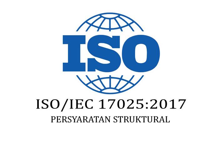 klausul persyaratan struktural iso 17025 versi 2017