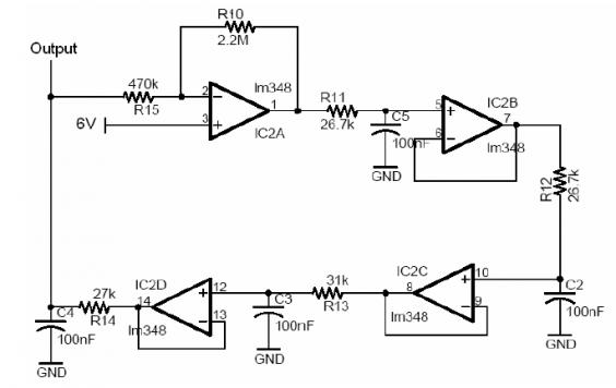 LM348 Sine Wave Generator Circuit Diagram