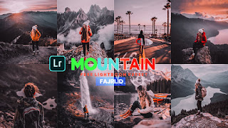 Preset Lightroom Mountain Ala Selebgram DNG