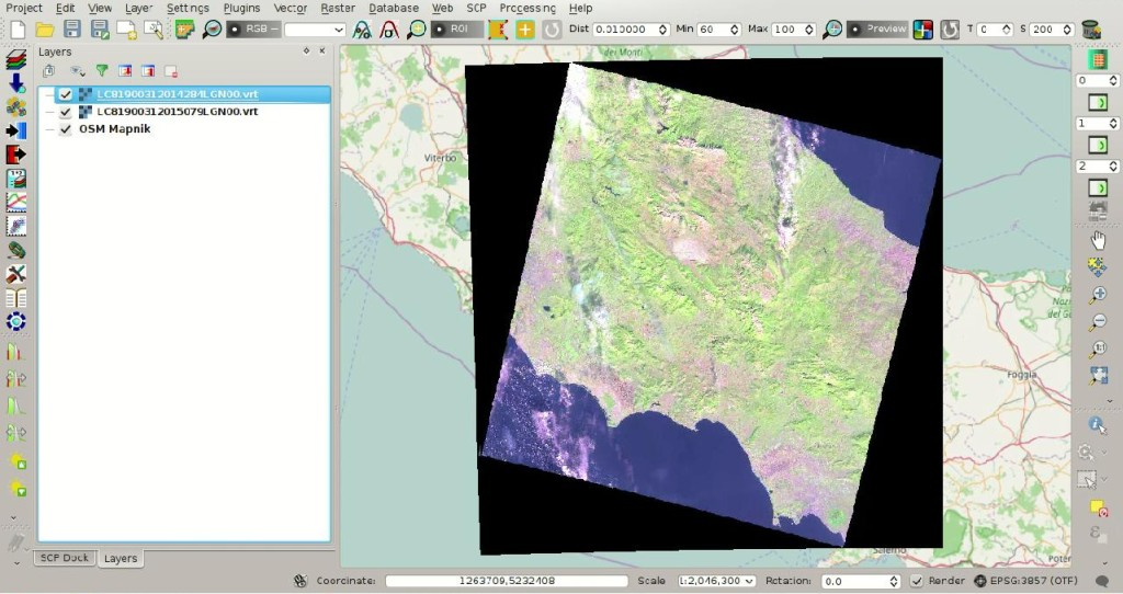 From GIS to Remote Sensing: From Image Download to NDVI Calculation