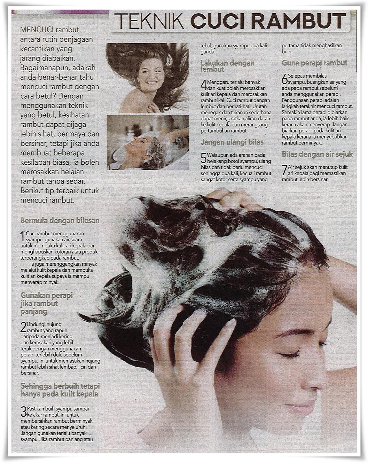 Teknik cuci rambut