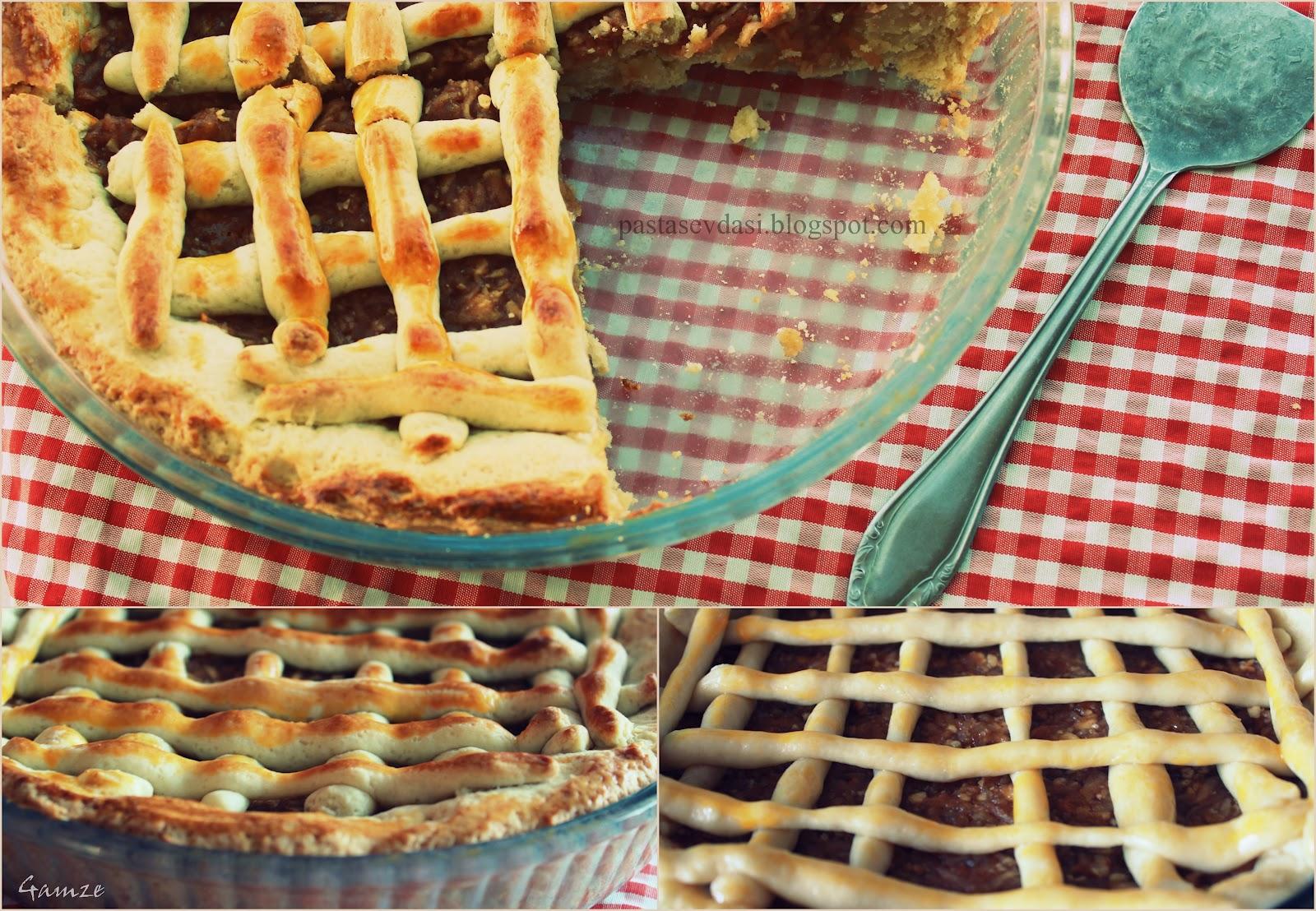 elmalı turta yapılışı ve malzemeleri