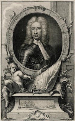 Charles Mordaunt, 3rd Earl of Peterborough and 1st Earl of Monmouth, c.1738-42 from Birch's Heads. © The Trustees of the British Museum