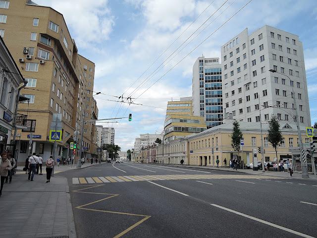 Прогулка по Таганской улице