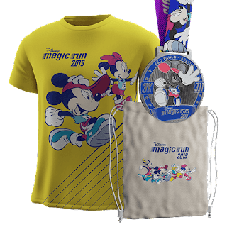 Kit coureur 3 km Disney Magic Run Sao Paulo 2019