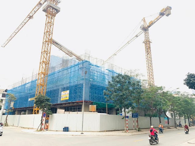Cập nhật tiến độ xây dựng chung cư Harmony Square Nguyễn Tuân