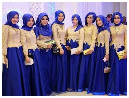 Kumpulan Model Gaun Kebaya Muslim Terbaru Untuk Tampilan Yang Anggun