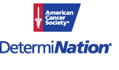 American Cancer Society Team DetermiNATION logo.
