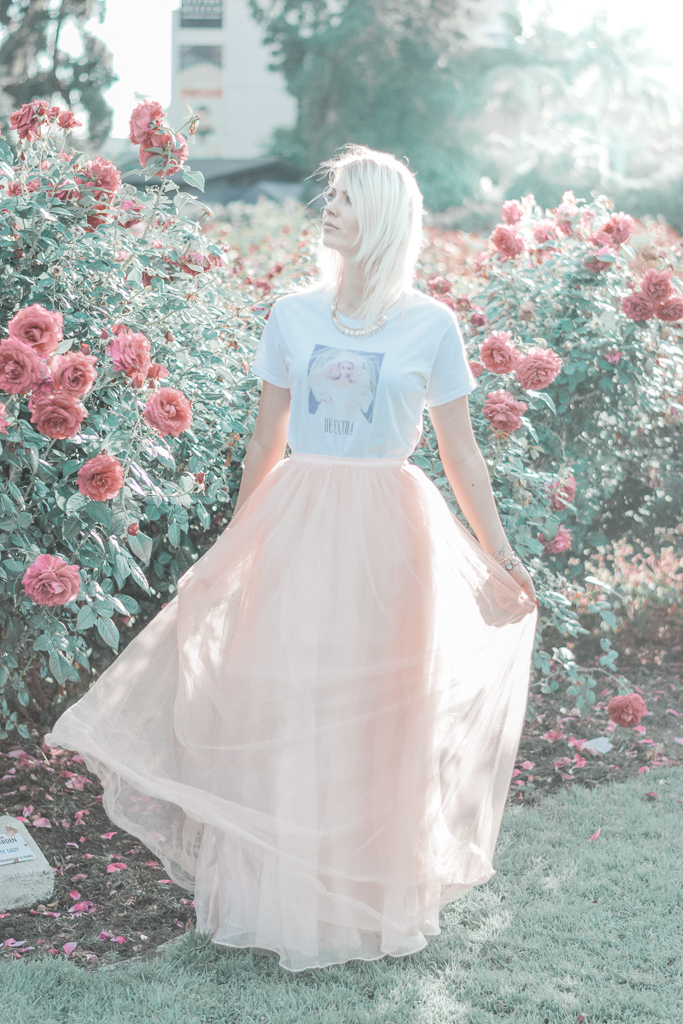 How to wear tulle skirts like a grown up