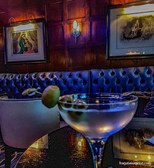 Blue Bar do Hotel Algonquin