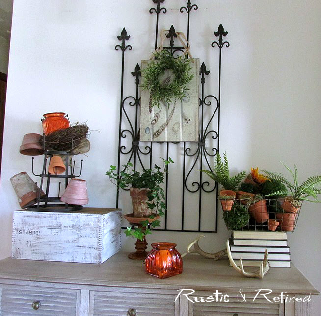 Rustic Foyer Decorating Ideas