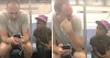 Guy Playing Game on Subway Hands Phone to Curious Boy and It's so Cute