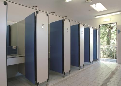 pareti modulari-HPL-bagno