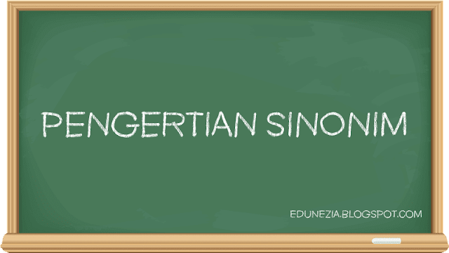 Pengertian Sinonim