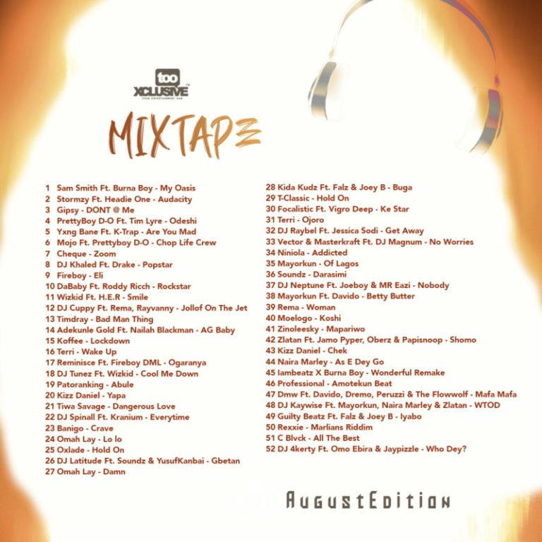 "DJ Latitude – ""Tooxclusive Mixtape August Edition"" #Arewapublisize"