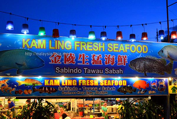 Seafood Restaurants in Tawau