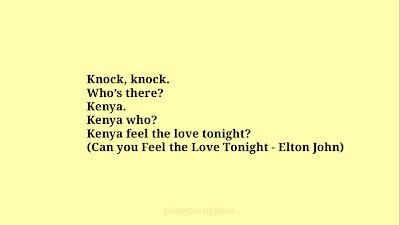 Kenya Knock Knock Jokes Pinoy