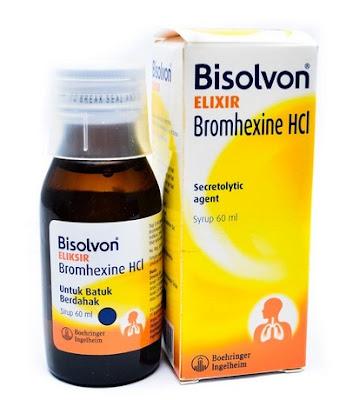 Harga Bisolvon Elixir Obat Batuk Berdahak Ampuh Terbaru 2017