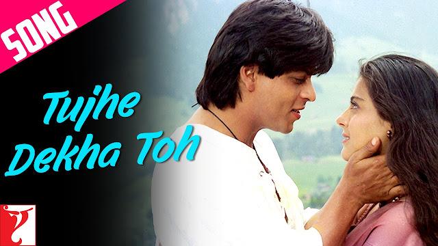 Valentine's day special romantic love songs Tujhe Dekha Toh you jana sanam