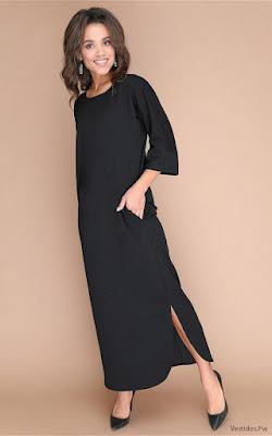 Vestidos Largos Lisos
