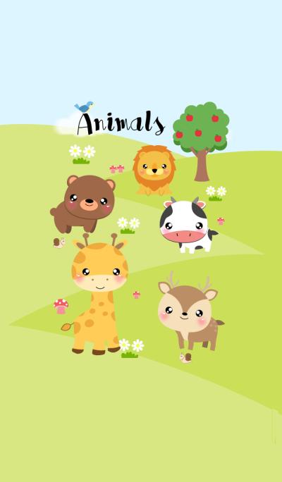 I Love Cute Animals Theme V.2