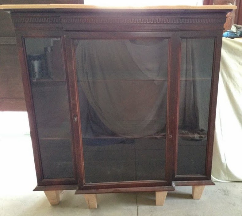 Hutch Top Repurposed Fireplace