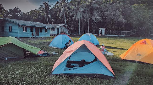 Camping di Pulau Berhala Sandakan