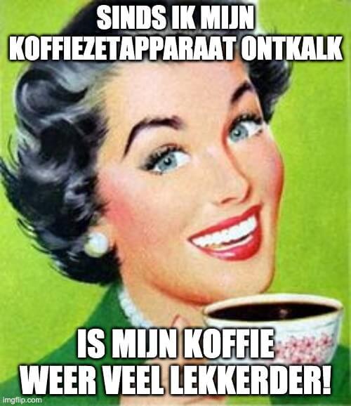 Hoe vaak koffiezetapparaat ontkalken?