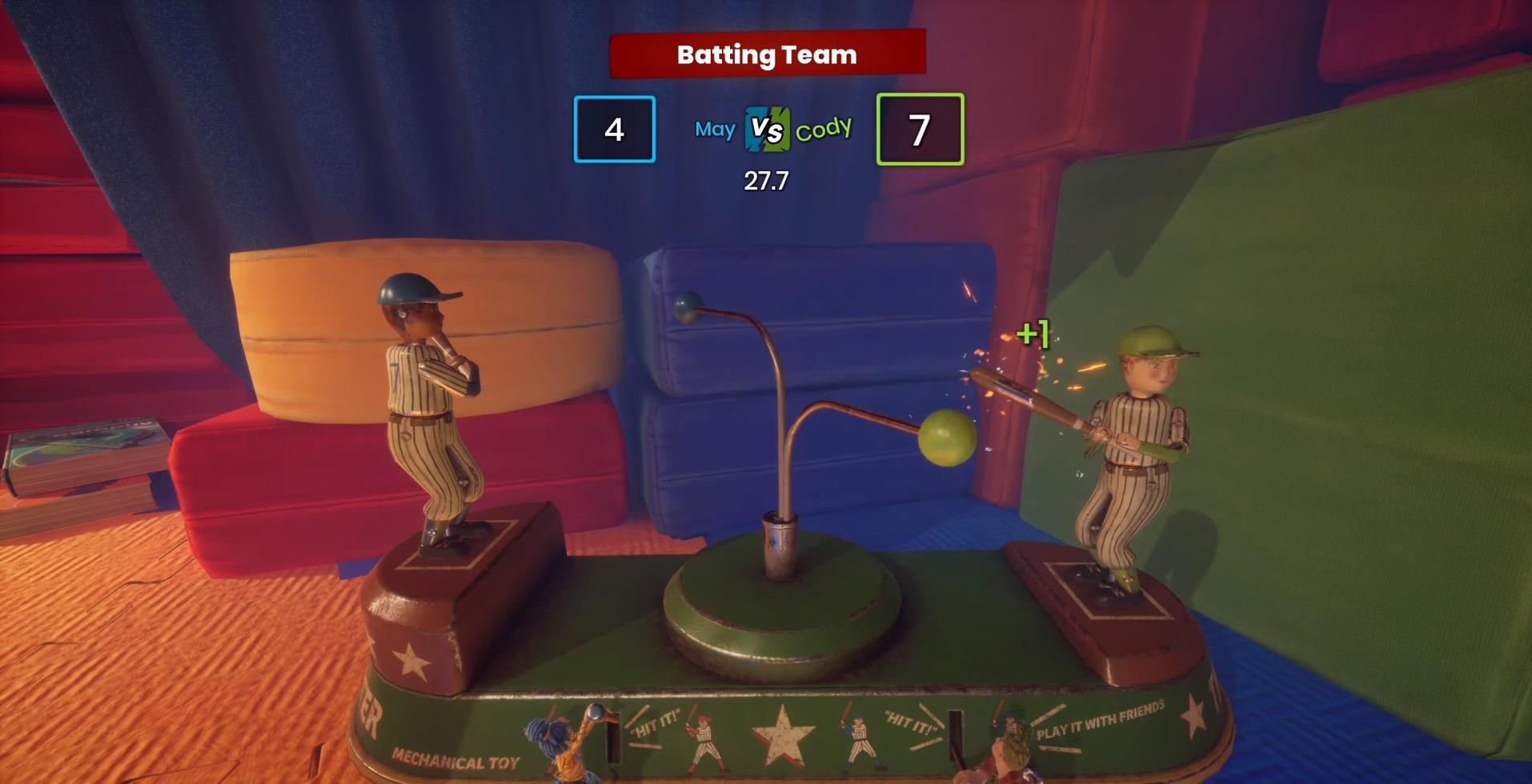 "Mini-game №10 ""Table baseball"""